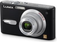 Panasonic DMC-FX3 black, silver